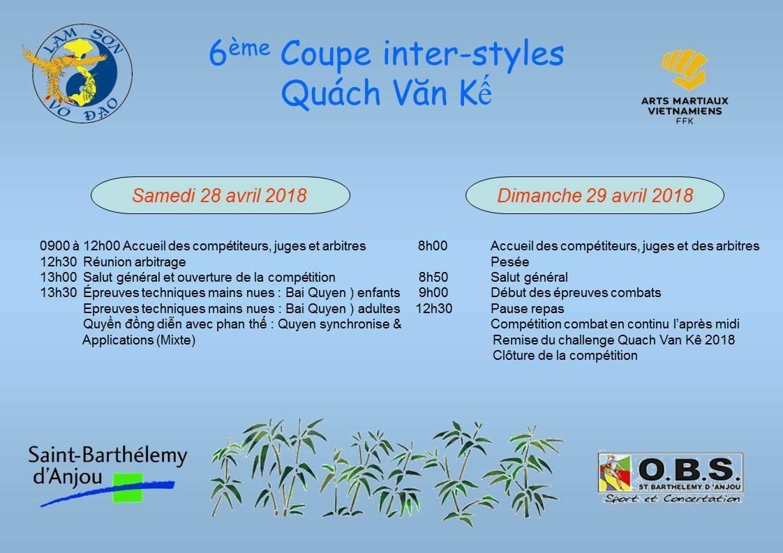Coupe QUÁCH VĂN KẾ 2018